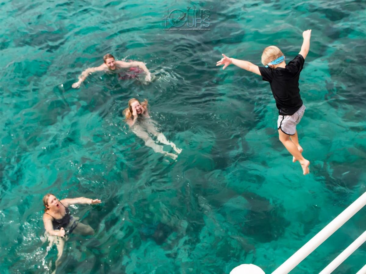 Câu cá lặn ngắm san hô Bắc Đảo