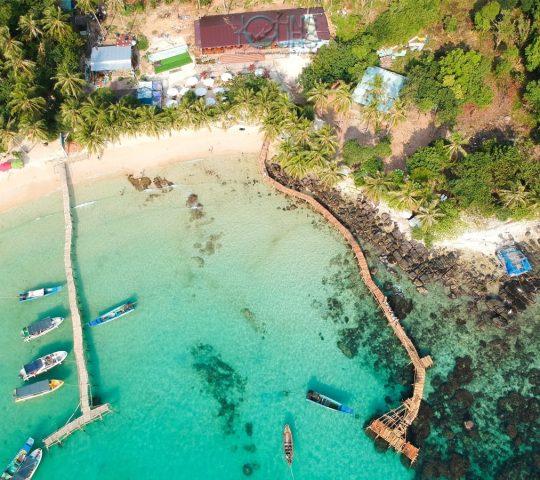 Tour cano 4 đảo
